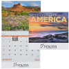 View Image 1 of 2 of Landscapes of America Calendar - Spiral