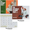 View Image 1 of 2 of The Saturday Evening Post Norman Rockwell Calendar - Spiral