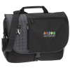 View Image 1 of 7 of Verve Checkpoint-Friendly Laptop Messenger Bag - Embroidered