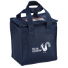 View Image 1 of 5 of Square Non-Woven Lunch Bag - 24 hr