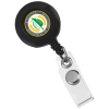 Retractable Badge Holder - Alligator Clip - Opaque - 24 hr