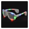 Light-Up Slotted Glasses - Multicolor