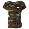 Code V Camouflage T-Shirt - Ladies'