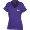 Hanes Nano-T 4.5 oz. V-Neck - Ladies' - Color