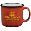 Campfire Ceramic Mug - Red - 15 oz.