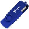 Swing USB Drive - Color - 2GB - 24 hr