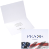 Patriotic Peace on Earth Greeting Card