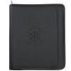 Manhattan Leather Zippered Portfolio