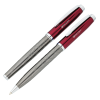 Guillox Nine Twist Metal Pen & Rollerball Pen Set - 24 hr