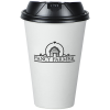 View Image 1 of 3 of Insulated Paper Travel Cup with Lid - 16 oz. - Low Qty