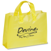 Colored Frosted Soft-Loop Shopping Bag