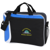 View Image 1 of 4 of All Day Computer Brief Bag - Embroidered