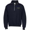 View Image 1 of 2 of Gildan Heavy Blend Vintage 1/4-Zip Sweatshirt - Embroidered