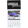 Muscle Car Stick Up Calendar - Rectangle