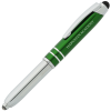 Mercury Stylus Metal Pen with Flashlight - Laser Engraved