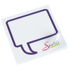 """View Image 1 of 2 of Bic Sticky Note - Designer - 3"""" x 3"""" - Message Bubble - 50 Sheet"""