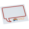 Bic Sticky Note - Designer - 3x4 - Message Bubble - 25 Sheet