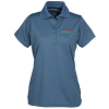 View Image 1 of 3 of Dry-Mesh Hi-Performance Polo - Ladies' - Embroidered