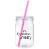 View Image 1 of 3 of In the Mood Mason Jar - 24 oz.