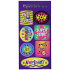 View Image 1 of 2 of Super Kid Sticker Sheet - Wow Words