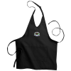 V-Neck Bib Apron with Two Pockets