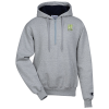 View Image 1 of 3 of Champion Cotton Max 1/4-Zip Hoodie - Embroidered