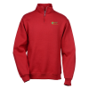 Jerzees NuBlend 1/4 Zip Sweatshirt - Embroidered