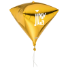 View Image 1 of 2 of 3D Foil Balloon - Diamond