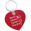 Heart Soft Key Tag - Opaque