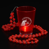Light-Up Shot Glass on Beaded Necklace - 2 oz.