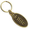 View the Camden Metal Keychain - Oval