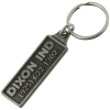 View Image 1 of 2 of Camden Metal Keychain - Rectangle