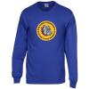 View Image 1 of 3 of Gildan 6 oz. Ultra Cotton LS T-Shirt - Men's - Full Color - Colors