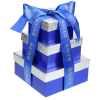 Chocolate Collection Tower - Blue and Silver