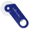 View Image 1 of 2 of Pizza Cutter with Bottle Opener
