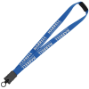"""View Image 1 of 5 of Lanyard with Neck Clasp - 7/8"""" - 32"""" - Snap Buckle Release"""
