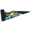 """View Image 1 of 2 of Premium Pennant 4"""" x 10"""""""