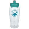 View Image 1 of 2 of Clear Impact Comfort Grip Bottle - 27 oz.