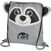 View Image 1 of 2 of Paws and Claws Sportpack - Raccoon