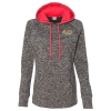 J. America - Cosmic Poly Fleece Hoodie - Ladies' - Embroidered