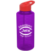 View Image 1 of 4 of Mountain Bottle with Flip Straw Lid - 36 oz.