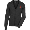 View Image 1 of 3 of Cotton Blend Cardigan Sweater - Men's
