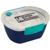 Punch Oval Lunch Container