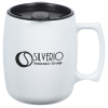 View Image 1 of 3 of Courier Mug with Lid - 12 oz. - Opaque