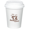 View Image 1 of 2 of Paper Hot/Cold Cup with Traveler Lid - 10 oz. - Low Qty