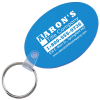 Oval Soft Keychain - Translucent