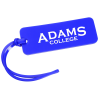 """View Image 1 of 2 of Rectangle Luggage Tag  - 1-1/2"""" x 4"""" - Opaque"""