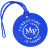 View Image 1 of 2 of Round Luggage Tag - Opaque