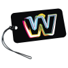 """View Image 1 of 3 of Rectangle POLYspectrum Bag Tag - 3"""" x 5"""" - Opaque"""