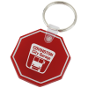 Stop Sign Soft Keychain - Opaque